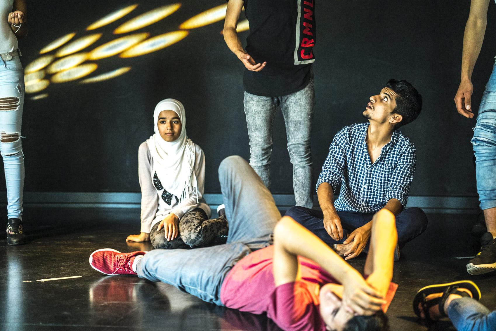 Openhaus 2016, mit geflüchteten Jugendlichen